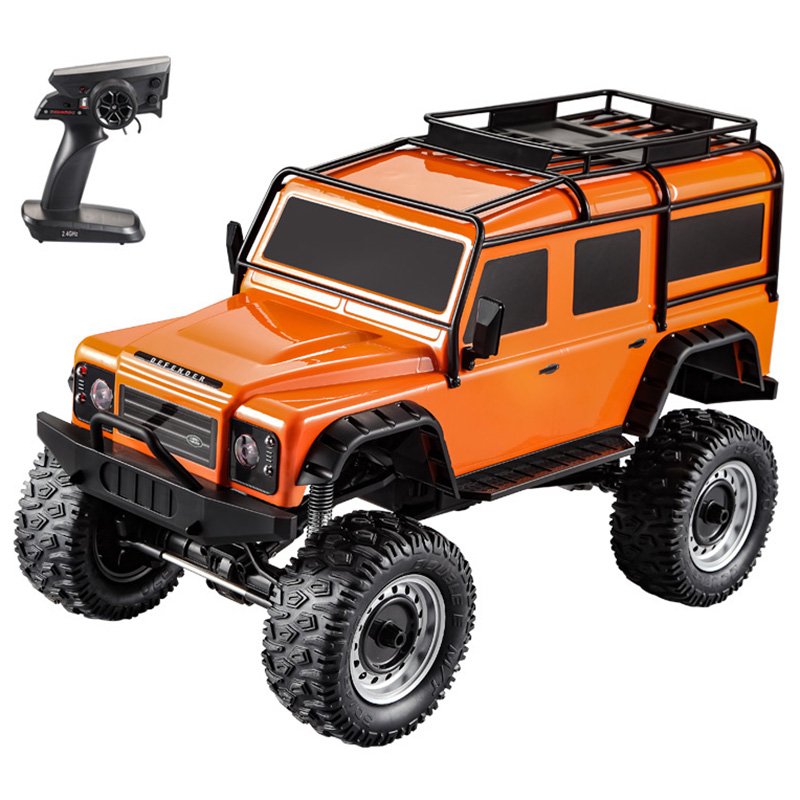 Hot Sales Remote Control Car 1:8 Off-Road Truck RTF 2.4GHz 4WD Independent Suspension Night Light Simulated Roof Rack Car GiftsHot Sales Remote Control Car 1:8 Off-Road Truck RTF 2.4GHz 4WD Independent Suspension Night Light Simulated Roof Rack Car Gifts