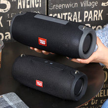 Bluetooth Speaker 10W Stereo Musik Portable Wireless Speaker Outdoor Tahan Air Subwoofer FM Radio Boom Box AUX Tf Usb Soundbar(China)