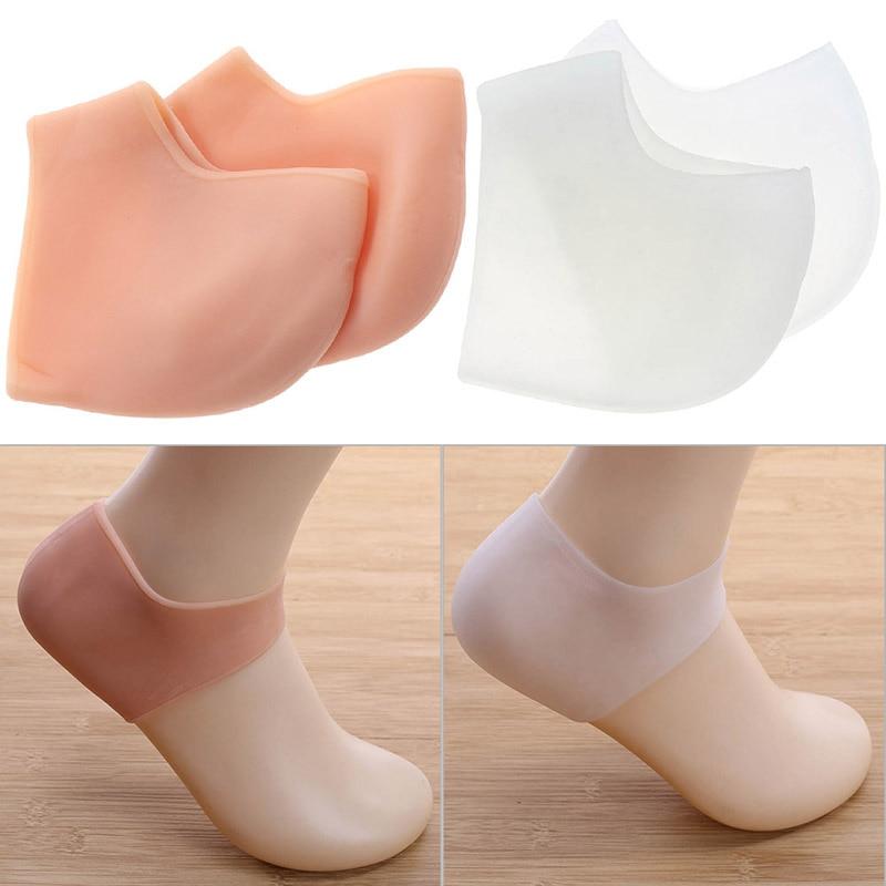 Haut Pflege Werkzeuge Schönheit & Gesundheit Silikon Feuchtigkeitsspendende Gel 1 Paar/2 Stücke Ferse Socken Wie Gebrochener Fuß Pflege Protector Massage Fuß Haut Protector Füße Pflege Werkzeug