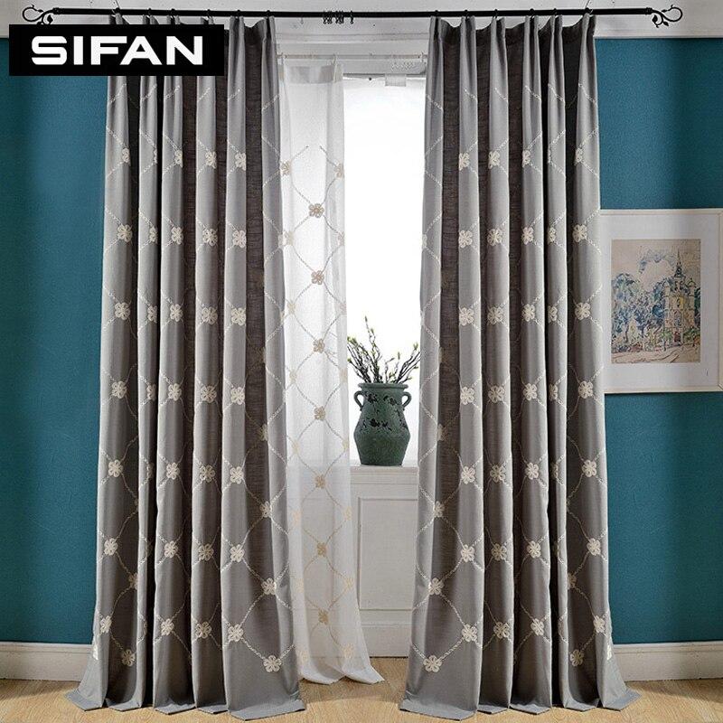 Online Get Cheap Fancy Living Room Curtains Aliexpresscom