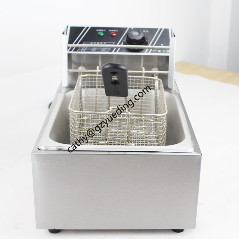 Manufacture Customized Commercial Industrial KFC Chips Electric/6L electric Deep Fryer For Restaurant shipule fast food restaurant 30l commercial electric chicken deep fryer commercial potato chips deep fryer frying machine