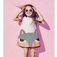 Summer Baby Girl Dress 2016 New Princes Dress Baby Girls Party Toddler Girl Dresses Clothing Baby