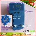 Handheld 125 Khz RFID Copiadora/Portátil ID Cloner Cartão/escritor Cópia de Cartão De IDENTIFICAÇÃO + 10 pcs EM4305/T5577 RFID Tag Frete Grátis