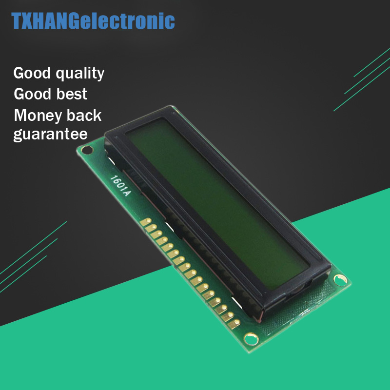 LCD1601 1601 Module Blue/Green/white Screen Character LCD Display Module HD44780 Controller Blacklight