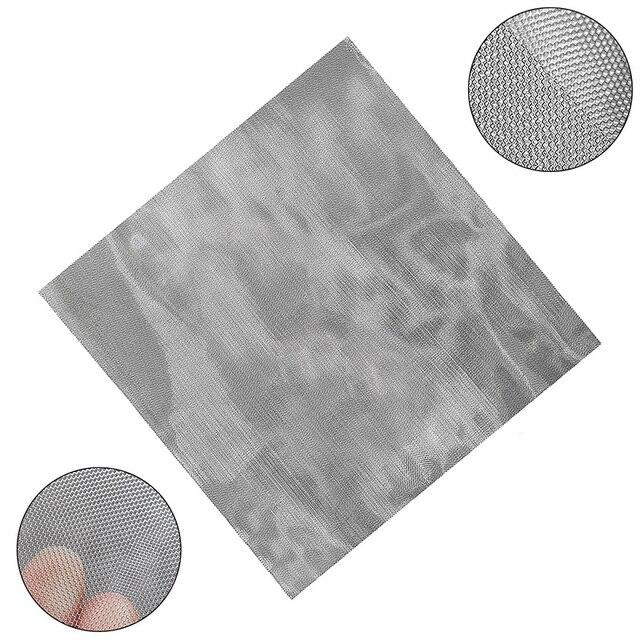 Сетка из нержавеющей стали 325, плетеная проволока, фильтр 50 микрон, фильтрационный экран 30*30 см