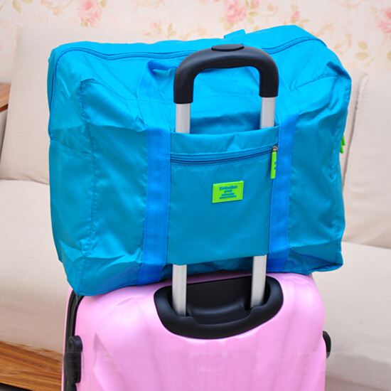 Large size waterproof portable travel bag versatile men women suitcase bag luggage bags free dropping