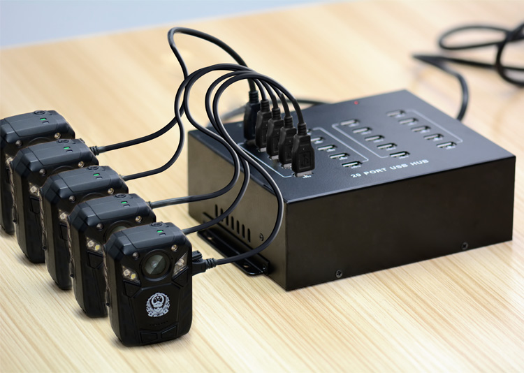 20 port USB 2.0 HUB Industrial grade HUB