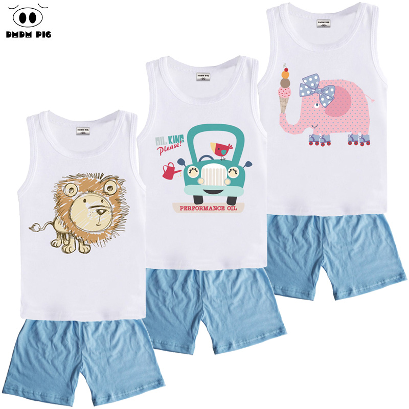 DMDM PIG Kids Clothes Sets Boys Clothes Suit Toddler Girls Clothing Sets Children's Sports Suits Baby Boy Girl Clothes For Boys