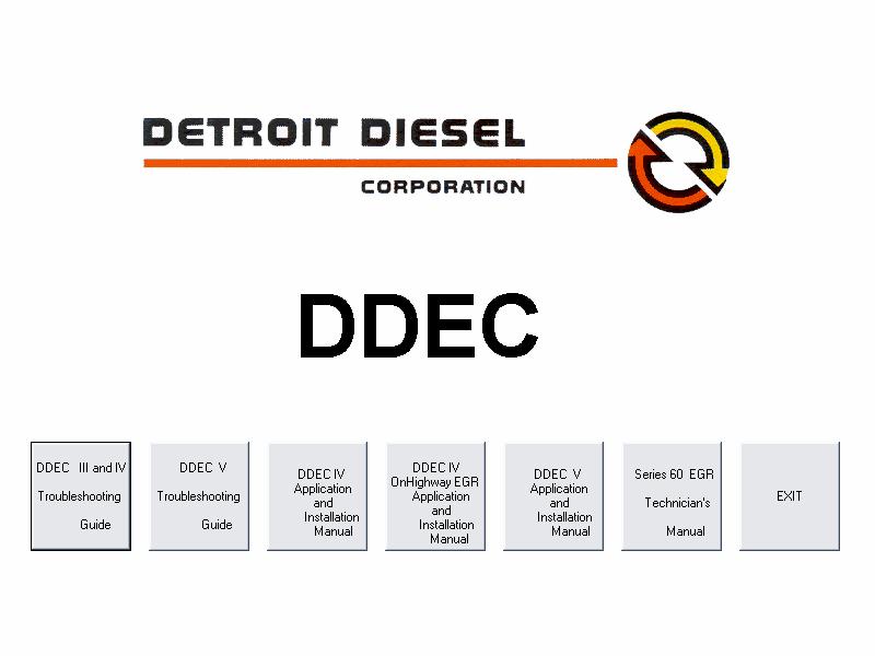 Pleasing Detroit Diesel Ddec 3 4 5 Service Manual In Code Readers Scan Wiring 101 Swasaxxcnl