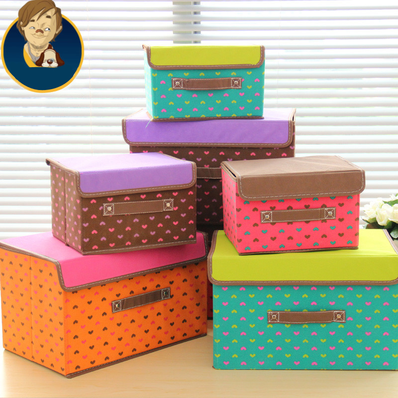 Korean Travel Storage Boxes Non Woven Fabric Waterproof Business Luggage  Bag Garment Clothing Underwear Finishing Storage Boxes In Foldable Storage  Bags ...