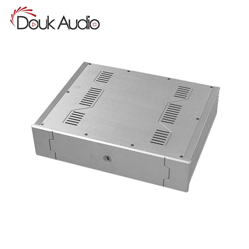 Aluminum Enclosure Power Amplifier/Preamp/Headphone Amp/DAC Chassis DIY Case Box preamp amplifier chassis aluminum case dac amp shell diy amp case