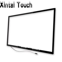 55 Inch 4 Touch Points IR Infrared Touch Screen Overlay Support XP Win7 Win 8