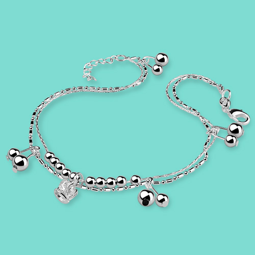 chain exquisite products silver wholesale goldplated set anklet popular anchor unique layer infinity multi anklets cross pearl heart turquoise