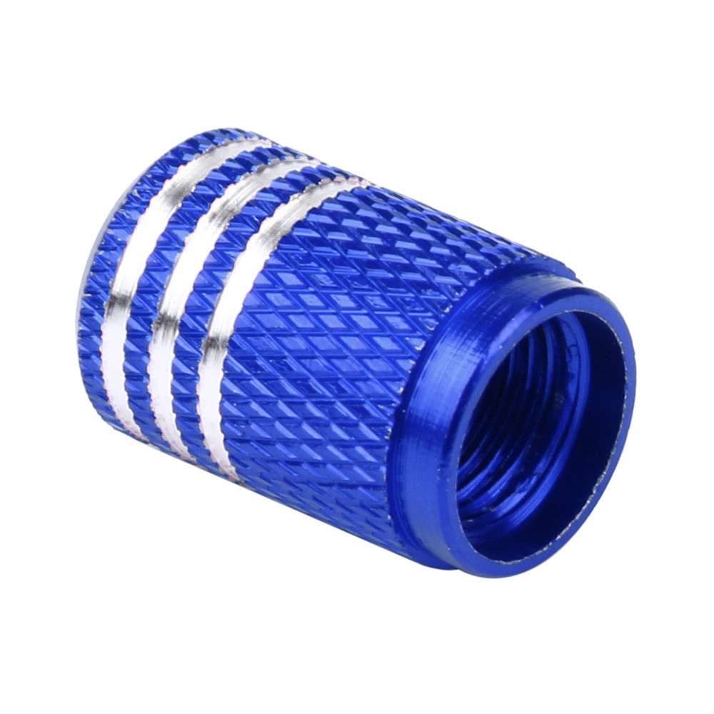 4PC Car Truck Bike Tire Tyre Wheel Valve Stems Cap Tire Wheel Rims Stem Air Valve Caps Tyre Cover Aluminum 1.6*1cm 4pcs universal aluminum car tyre air valve caps bicycle tire valve cap car wheel styling round alloy caps 16 x 10 x 10mm