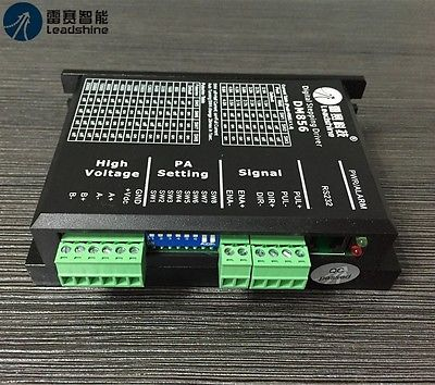 LeadShine DM856 2/4 Phase Digital Stepper Motor Driver Free Shipping XWJ
