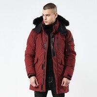 Men's Waterproof Parka Winter Military Jacket Coat Men Army Green Black Outdoor Ice Coat veste homme hiver parka homme.DB20