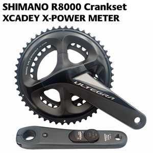 53747f3f075 2018 SHIMANO ULTEGRA R8000 POWER Crankset XCADEY X-POWER METER Crank 170mm  172.5