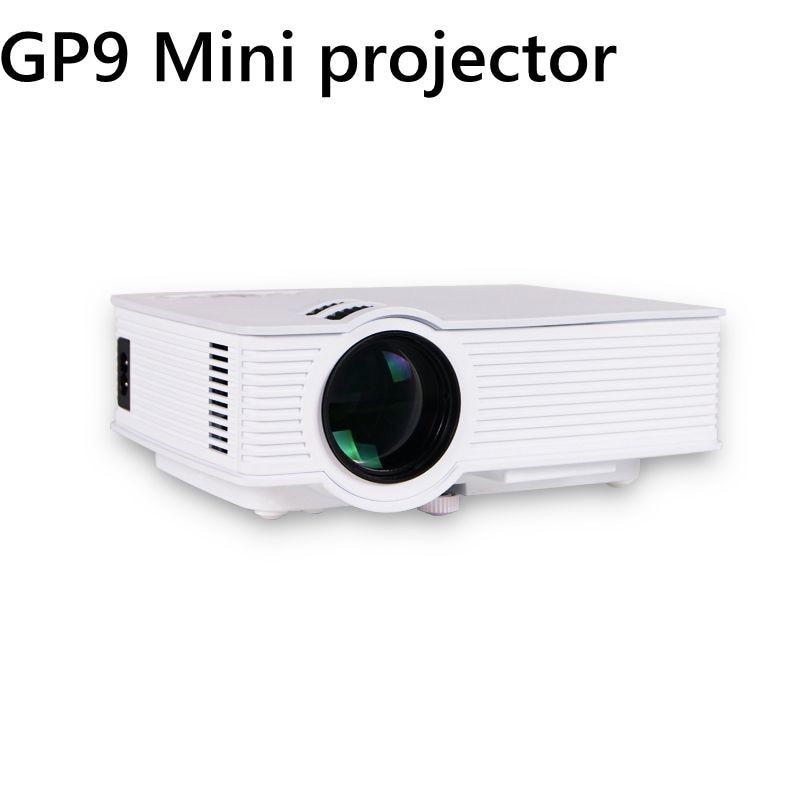 GP-9 Mini Home Cinema Theater HD LCD Projector 2 USB 2000 Lumens 1920 x 1080 Pixels Video Micro piCo Teaching Projector