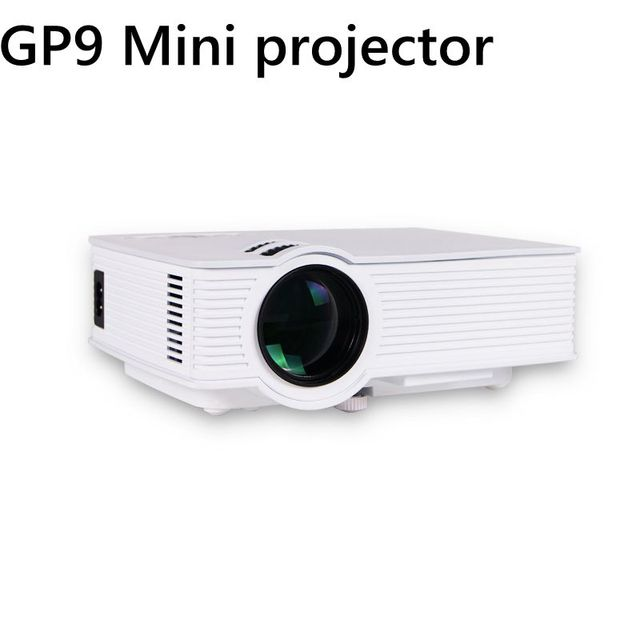 GP-9 Mini Home Cinema Theater HD Projetor LCD 2 USB 2000 Lumens 1920x1080 Pixels de Vídeo Micro piCo de Ensino projetor