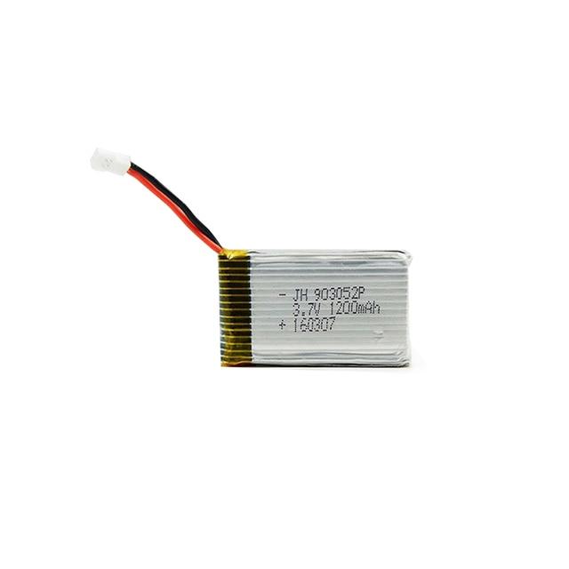 Big Capacity 3.7V 1200 mAh Lipo Battery For Syma X5SW X5SC RC Quadcopter