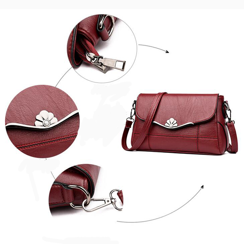 HTB12KrJbiLrK1Rjy1zdq6ynnpXaR - Women Bags  Shoulder Bag Fashion Handbag and Purse PU Leather Crossbody Bags for Women  New Black&Red