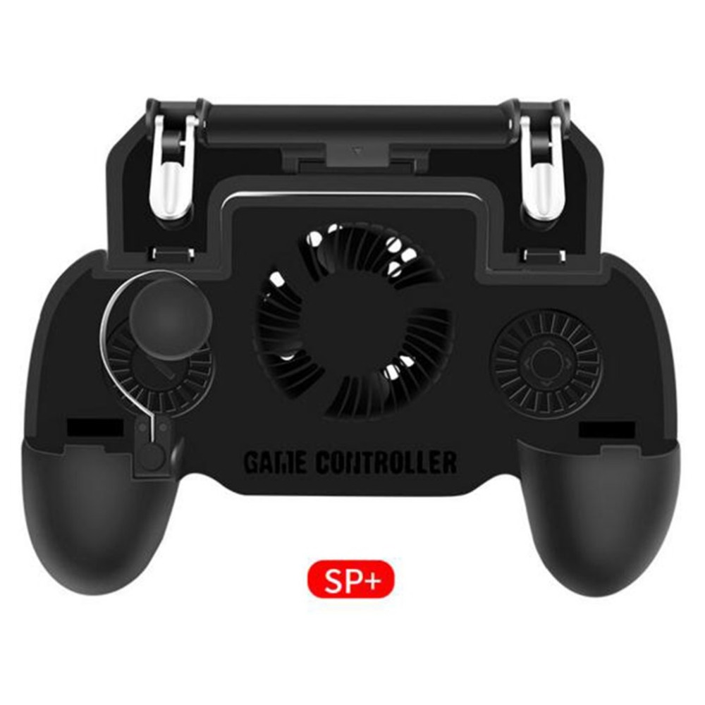 Mobile Phone Game Controller Joystick Cooling Fan Gamepad for PUBG Game for Android for IOS