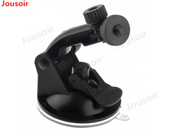 50PCS/lot 1/4 Screw Nut Suction Cup Bracket for SC310 R310 K6000 H198 DVR Car GPS DVR Camera Holders Auto Driving Recorder CD50