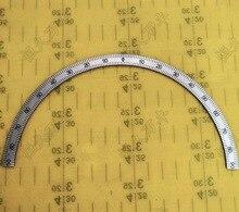 Diameter:167mm  thickness:1mm 180 degree middle half circle dial disc Experimental equipment цена в Москве и Питере