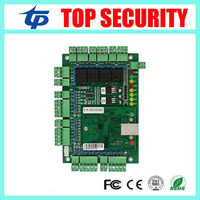 TCP/IP 4 doors 30000 users door access control panel four doors smart card RFID card MF card access control board system