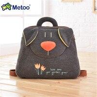 Metoo Special European Sytle Animal Plush Backpack Bag For Kids Children Backpacks Kindergarten Girl Baby