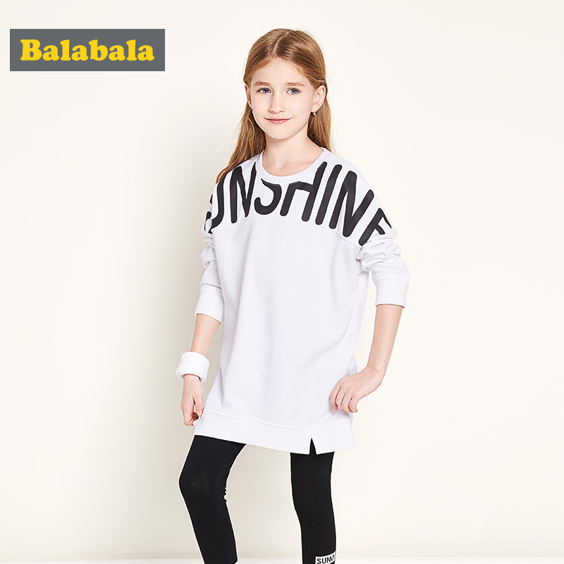 balabala spring Girls Sprot Suit Baby girls Clothes Costume For Kids cotton tshirt + leggings sets Christmas Outfits clothing minnie girls clothing sets mickey children clothes set for boys cotton hoodies tops tshirt leggings pants baby kids suit costume
