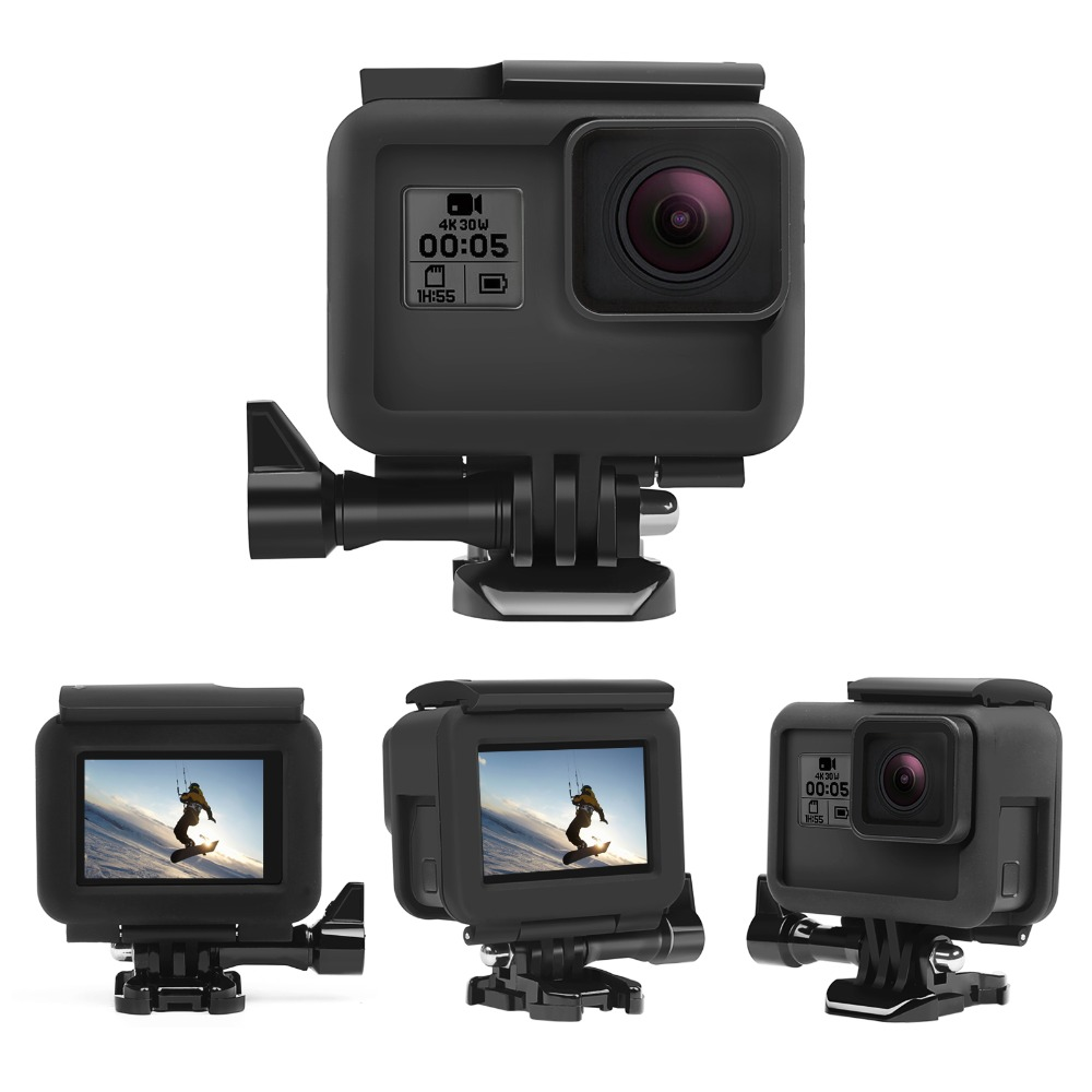 For GoPro Accessories Hero 7 6 5 Protective Frame Case Camcorder Housing Hero5 6Black Action Camera