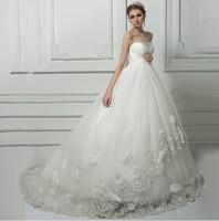 Robe De Mariage Top Lace Flowers Maternity Wedding Dress Pregnant Women Bridal Gown Vestido De Noiva