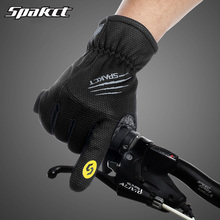 Bike Gloves Winter Thermal Windproof Warm Full Finger Cycling Glove Anti-slip Bike Bicycle Gloves for Man Woman