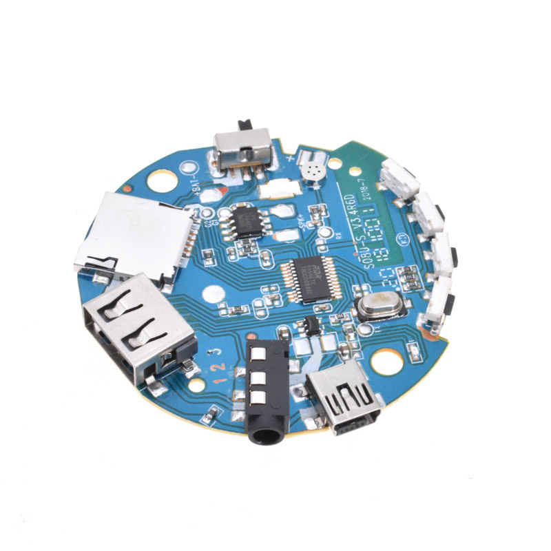 3.7-5V Multifunction Bluetooth Receiver Audio Amplifier Board MP3 Decoder