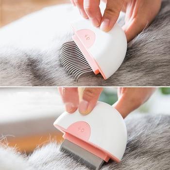 Mini 2 in 1 Deshedding Massage Comb 4