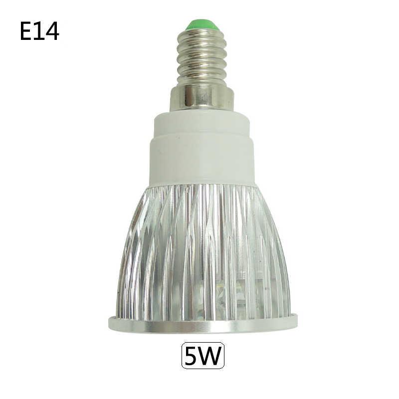 Projecteur Super lumineux lampe à LED LED projecteur DC AC 12V 3W 4W 5W haute qualité GU10 MR16 E27 E14 Spot ampoule Lampada LED 220V