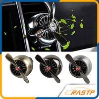 RASTP-Araba Hava Spreyi Pervane Tasarımı Araba Outlet Vent Klip Oto Aromaterapi Dispell Tuhaf Koku LS-BAG016