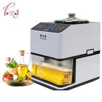 Aço inoxidável diy máquina da imprensa de óleo quente e fria pressores de óleo 12000r/min gergelim/amendoim/sementes de girassol extrator de óleo JNZ-A-01