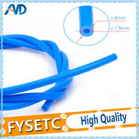 1 Meter PTFE Tube Teflonto TL-Feeder Rostock Bowden Extruder 1.75mm Filament ID 1.9mm OD 4mm Cloned Capricornus Tube