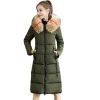 Large Size 7XL Winter Jacket Women Hooded Outwear Down Parkas Female Slim Thick Warm Cotton Coat Long Winter Jackets Women CM939