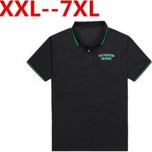 9XL 8XL 7XL 6XL 5XL 4XL Brand Men Polo shirt Solid Color Short-Sleeve Slim Fit Shirt Men Cotton polo Shirts Casual Camisa Polo