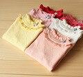 2016 nuevos suéteres de invierno suéteres de la flor de las muchachas de la manera niños ropa de alta calidad Y1222