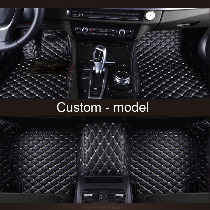 US $78 74 38% OFF|Custom fit car floor mat specially for Chevrolet Tahoe  Suburban Traverse Malibu 3d all weather high quality luxury rugs liners-in