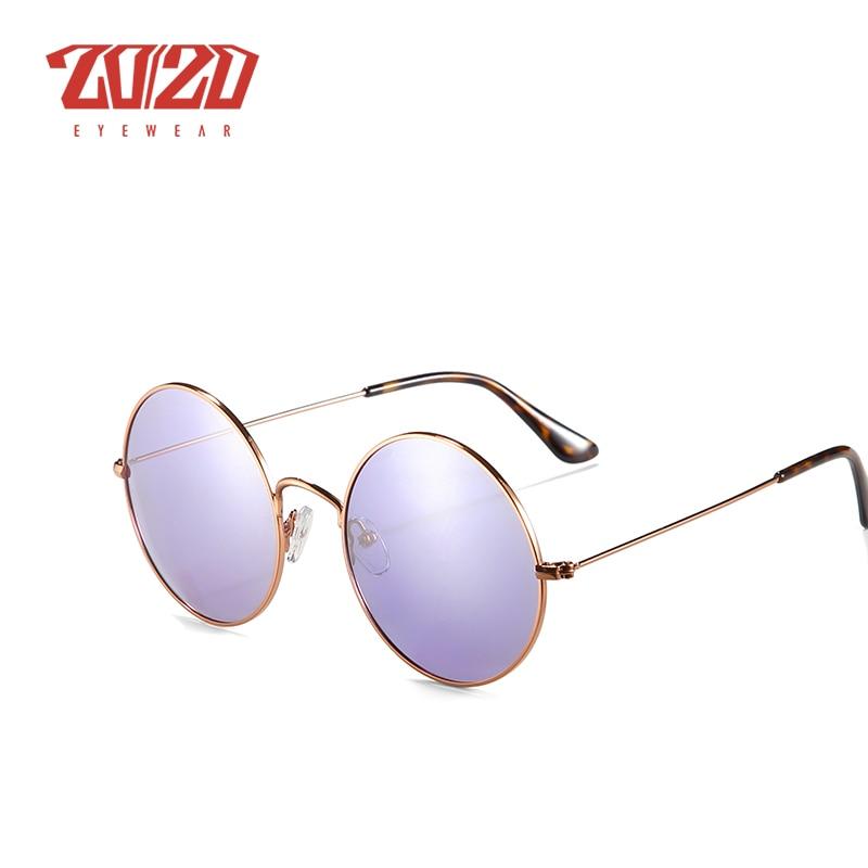 20/20 Brand New Unisex Sunglasses Men Polarized Women Vintage Round Metal Glasses Accessories Sun Glasses for Women 17008 5