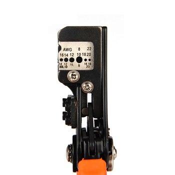 IWISS ידנית הפשטת צבת פונקציה רב חשמלאי חוט תוקע פלייר, הפשטת מגוון 0.35-8.2mm2