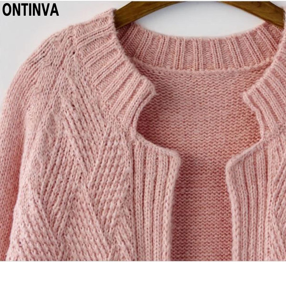 Aliexpress.com : Buy Pink Plus Size Cute Cardigans Sweater Woman ...