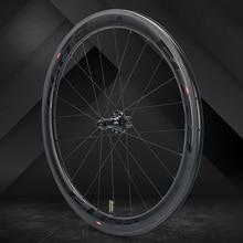 Elite SLR Carbon колесо для дорожного байка прямо тянуть низкое сопротивление керамическая втулка 25/27 мм шире Tubular бескамерная клинчерная покрышка 700c колесная