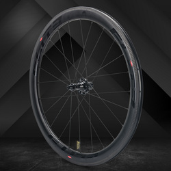 Elite SLR de carbono rueda de bicicleta de carretera de tiro recto baja resistencia de cerámica de 25/27mm más Tubular cubierta Tubeless 700c ruedas