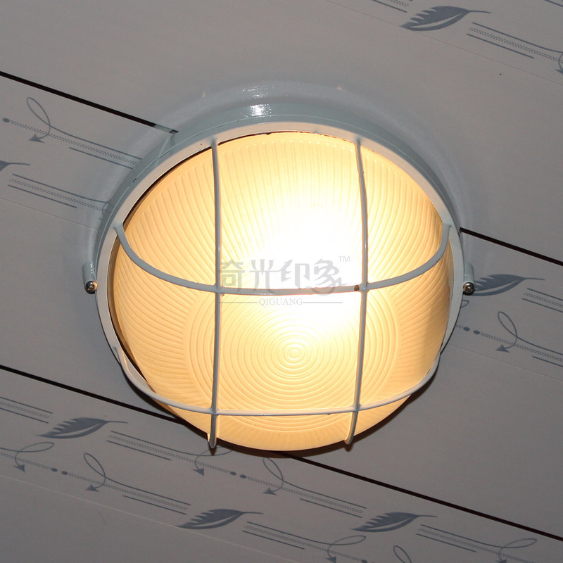 ФОТО European White Round Outdoor Wall Lamp Villa waterproof Landscape Corridor Hallway Door Bedroom Bedside Wall Sconces